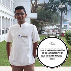 When guests enter Brunton Boatyard, one of the first things that greet them is the warm smile of Srinath K. The Hotel Operations Trainee at our Front Desk is a campus placement hire, and is extremely passionate about his job. Srinath believes the best things about working with CGH are its core values, approachable management and growth opportunities.