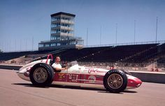 Indy 500 winner 1962: Rodger Ward  Starting Position: 2  Race Time: 3:33:50.330  Chassis/engine: Watson/Offy