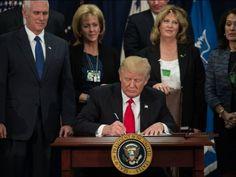 Donald Trump enclenche le projet du mur avec le Mexique
