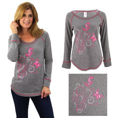 fda410e8db3b0 The fight against breast cancer takes flight in this cozy