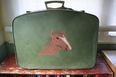 Hey, I found this really awesome Etsy listing at https://www.etsy.com/listing/228640894/vintage-suitcase-with-hand-painted