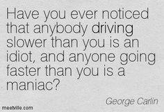 driving..