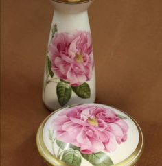 Painted Porcelain, Hand Painted, China Painting, Dresden, Painting Techniques, Shabby Chic, Roses, Victorian, Gardening