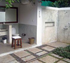 Outdoor bathroom designs