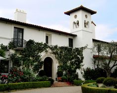 George Washington Smith - Architect - spanish colonial santa barbara style