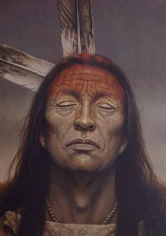 Umbanda Amor Native American Face Paint, Native American Warrior, Native American Paintings, Native American Images, Native American Wisdom, American Indian Art, Native American History, American Indians, Native Indian