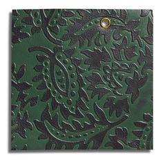Edelman Leather GREEN Lasting Impressions