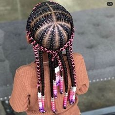 Little Girl Braids, Black Girl Braids, Braids For Kids, Braids For Black Hair, Girls Braids, Black Girl Braided Hairstyles, Lil Girl Hairstyles, Black Kids Hairstyles, Natural Hairstyles For Kids