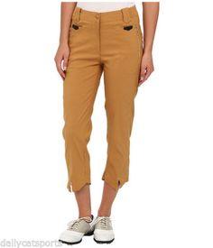 NWT-JAMIE-SADOCK-Cinnabar-Gold-Allie-Capri-Pants-Size-8-31326-940