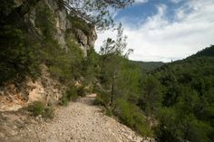 Camino junto al Hundido de Armallones