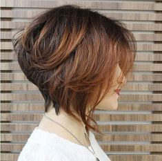 Stacked Wedge Hairstyles