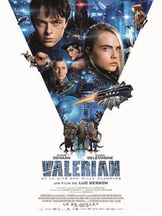 Critique de Valérian et la Cité des Mille Planètes de Luc Besson en salles depuis le 26 juillet via EuropaCorp