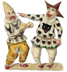 Awesome Victorian Circus Clowns