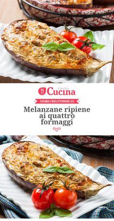 #Melanzane ripiene ai quattro #formaggi