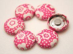 Tiny Pink - Push Pins or Magnets. $8.00, via Etsy.