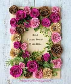 Taaakie wianki!: Różana kartka, odsłona trzecia.