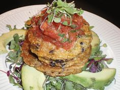 Vegan Splendor: Southwest Corn and Black Bean Fritters