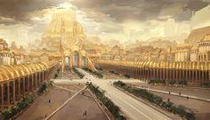 Capital Inner plaza by Ishutani on DeviantArt