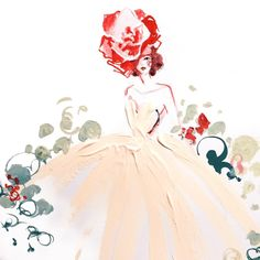 Secret garden-from paper fashion
