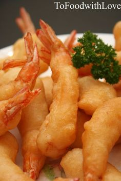 To Food with Love: Coconut Shrimp and Spicy Pasta with Chorizo Best Seafood Recipes, Prawn Recipes, Entree Recipes, Fish Recipes, Cooking Recipes, Camaron Rebosado, Beignets, Prawn Fritters, Spicy Pasta