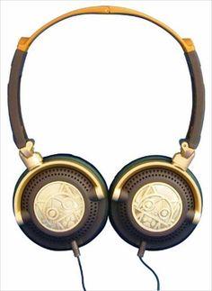 Monster Hunter stereo headphone Airou type japan import