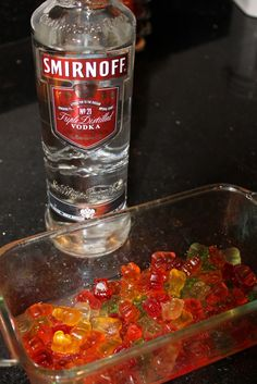 Vodka Spiked Gummy Bears | My Thirty Spot