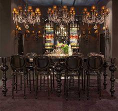 Posh dining room