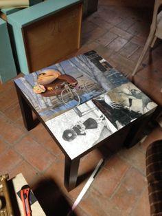 Tavolino IKEA DIY con ILLUSTRATI!