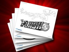 Themed Printables: The Flash