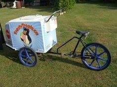 Frosty Treats ice cream bike 2