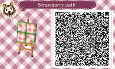 Animal Crossing: New Leaf & HHD QR Code Paths , Do you think you can make your strawberry...