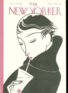 The New Yorker Cover - April 1926 Poster Print by Clayton Knight at the Condé Nast Collection The New Yorker, New Yorker Covers, Maira Kalman, Illustration Art Nouveau, Magazine Art, Magazine Covers, Vintage Magazines, Vintage Ads, Vintage Posters