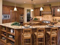 Brilliant Kitchen Countertop - Plan #091S-0002   houseplansandmore.com
