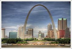 Arch 2009-06-06 - 1 by bobcrowe_com, via Flickr Places Ive Been, Places To Go, Skyline Painting, Landscape Art, Pretty Pictures, St Louis, Grammar, San Francisco Skyline, The Neighbourhood