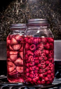 Make your own infused alcohols! Easy!