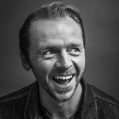 Simon John Pegg (14 February 1970) - English actor / comedian / screenwriter and film producer
