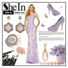 Mermaid Straps Floor-length Tulle Prom Dress by johnnymuller on Polyvore featuring ASOS, Cathy Waterman, Christian Dior and Deborah Lippmann