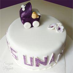 Estrade's cakes: tarta de fondant para baby shower