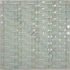 ISI Crystile Solids 1 x 3 Silver Glossy Silver Glass