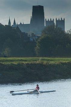 row around England