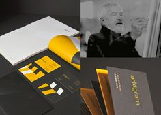 Brand Identity for arkigram  By Ineo Designlab® - Role Creative Direction and design