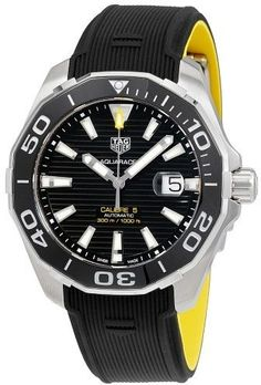 Tag Heuer Aquaracer Automatic Black Dial Men s Watch WAY201A.FT6069 f31fd31aef6