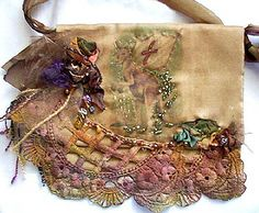 This inspires me for pockets on a sweater!  Stunning use of scraps
