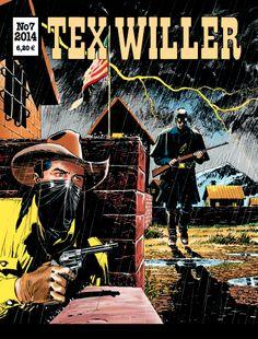 Tex Willer -lehti no 7/2014. #sarjakuva #sarjis #sarjakuvalehti #egmont