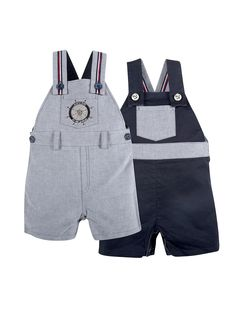Reversible Nautical Overall by Andy & Evan at Gilt - Cute romper and perfect knowing it's reversible.