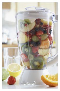 Jugos naturales - frutas y verduras Mambo. www.mambo.com.co