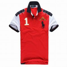 36 Awesome Ralph Lauren Big Pony Polo Shirts for Men images Polo Rugby Shirt, Mens Polo T Shirts, Short Sleeve Polo Shirts, Boys T Shirts, Golf Shirts, Shirt Men, Ralph Lauren Uk, Bermuda, Shirt Designs