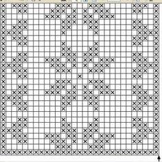 Lace insertion or edging in filet crochet Filet Crochet Charts, Crochet Diagram, Knitting Charts, Crochet Pattern, Knitting Patterns, Crochet Table Runner Pattern, Crochet Tablecloth, Crochet Doilies, Thread Crochet