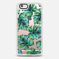 Monstera + Pastel Pink iPhone & iPod Case - New Standard Case