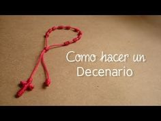 How to make a decenario/rosary bracelet/anklet